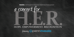 a concert for HER